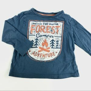 """The forest camper"""" shirt"""